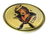 Sailor Girl Illustrated 5-inch Paint Can Lid - Cigar Box Guitar Resonator