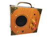 """The """"Mini Driver"""" Dual-Speaker, Dual-Input Cigar Box Amplifier - for Guitar and MP3/Smartphones"""