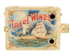 """Trade Winds"" 3-string Illustrated Cigar Box Guitar - Vintage Cigar Art Series"