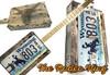 "The ""Rodeo King"" 3-string License Plate Resonator Guitar Kit"