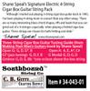 Shane Speal Signature 4-string Cigar Box Guitar String Sets