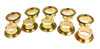 10-pack 7/8-inch Brass Grommets/Candle Cups