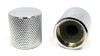 2-pack Chrome Flat-Top Knobs