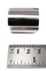 Stubby 1.10-inch (28mm) Stainless Steel Guitar Slide