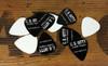 "12pc. Black ""C. B. Gitty"" Medium Guitar Picks"