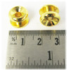3pc. Gold Strap Buttons with Screws