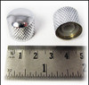 8-pack Chrome Dome Press-Fit Knobs
