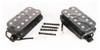 Classic Black Humbucker Set - Neck and Bridge Matched Pair