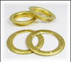 6-pack Large (1.5-inch) Satin Brass Grommets w/Washers