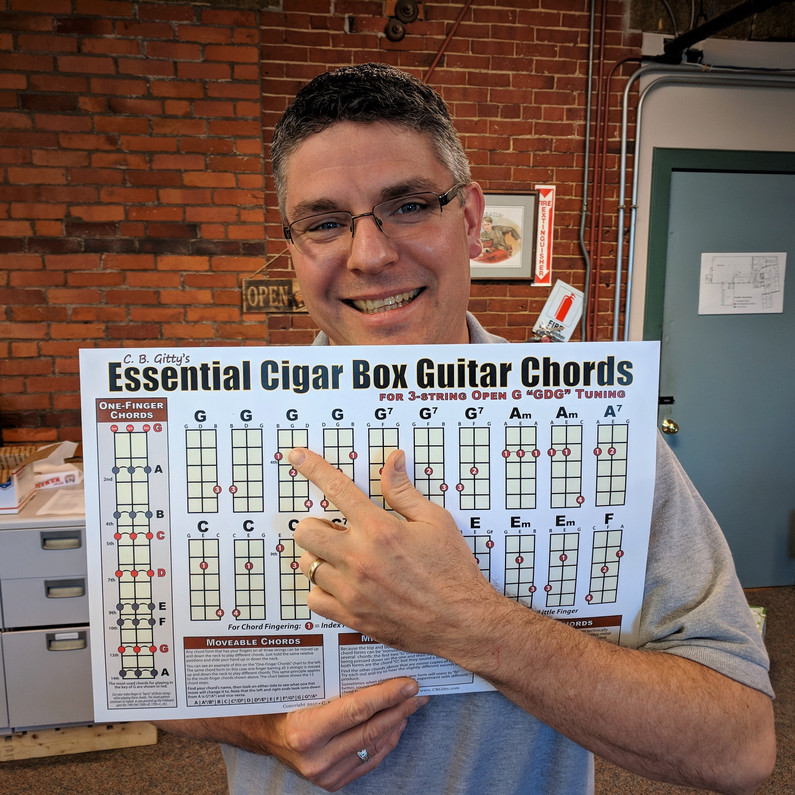 3 string cigar box guitar chord forms made easy the ultimate guide c b gitty crafter supply. Black Bedroom Furniture Sets. Home Design Ideas