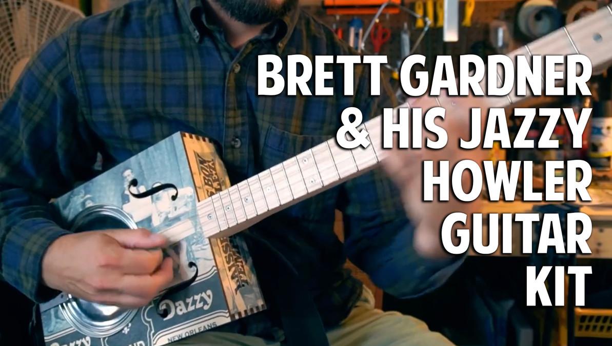 VIDEO:  Brett Gardner Plays Jazz on His Custom Hubcap Howler