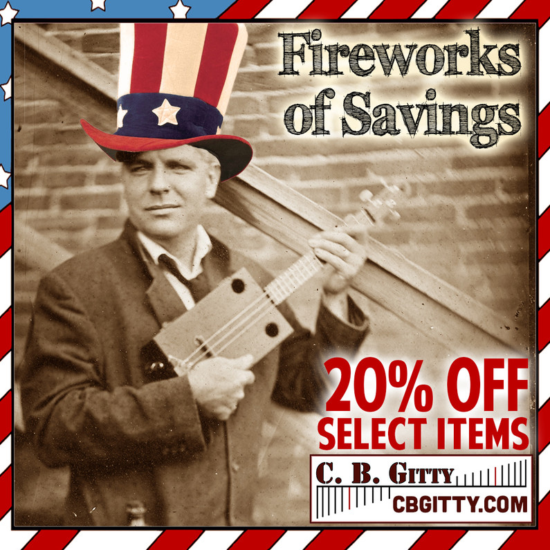 SALE EXTENDED!!!  FIREWORKS OF SAVINGS + Spend $76 and Get a Free Songbook!