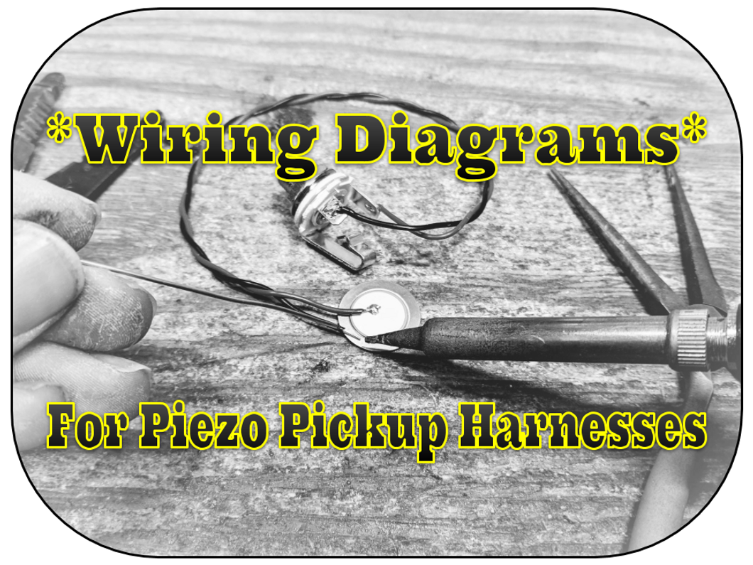 4 ways to electrify your cigar box guitars with piezo pickup4 ways to electrify your cigar box guitars with piezo pickup harnesses [ diagrams included]