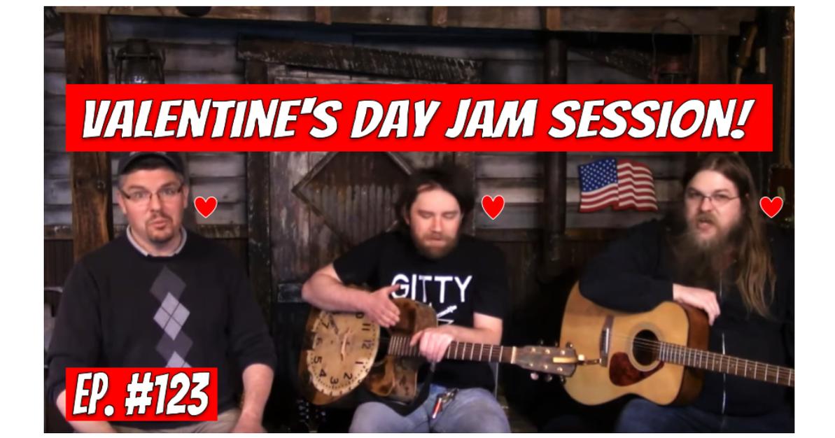 Gitty Gang Show #123 | Valentine's Day Jam Session