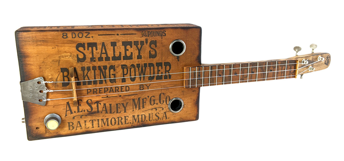 """Building the """"Baker's Friend"""" Guitar - A Photo Diary"""
