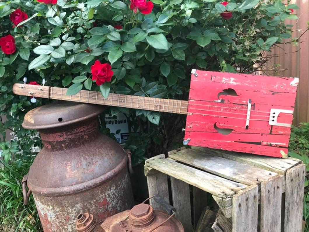 "The Barnwood ""Mountain Tenor"" Guitar - A Builder's Diary"