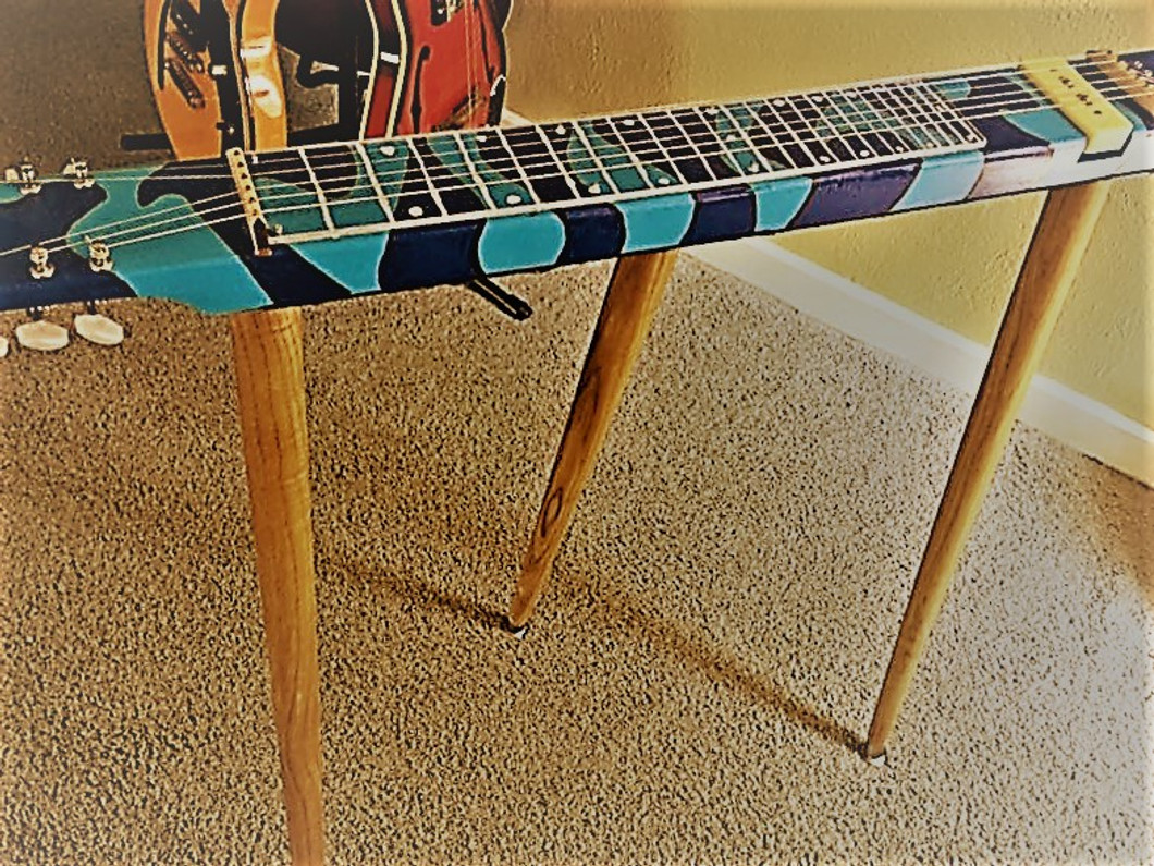 Awe Inspiring How To Add Legs To A 2X4 Lap Steel Guitar C B Gitty Download Free Architecture Designs Rallybritishbridgeorg