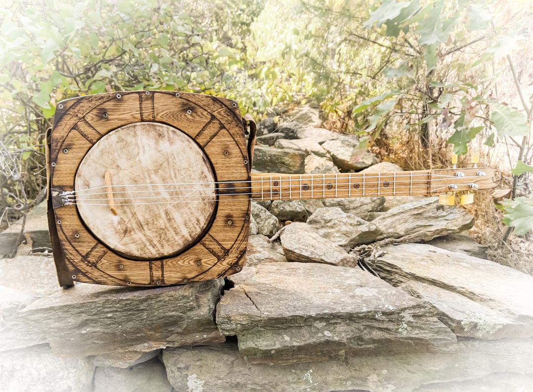 "Building the ""Wagon Wheel"" Tenor Banjo - A Photo Diary"