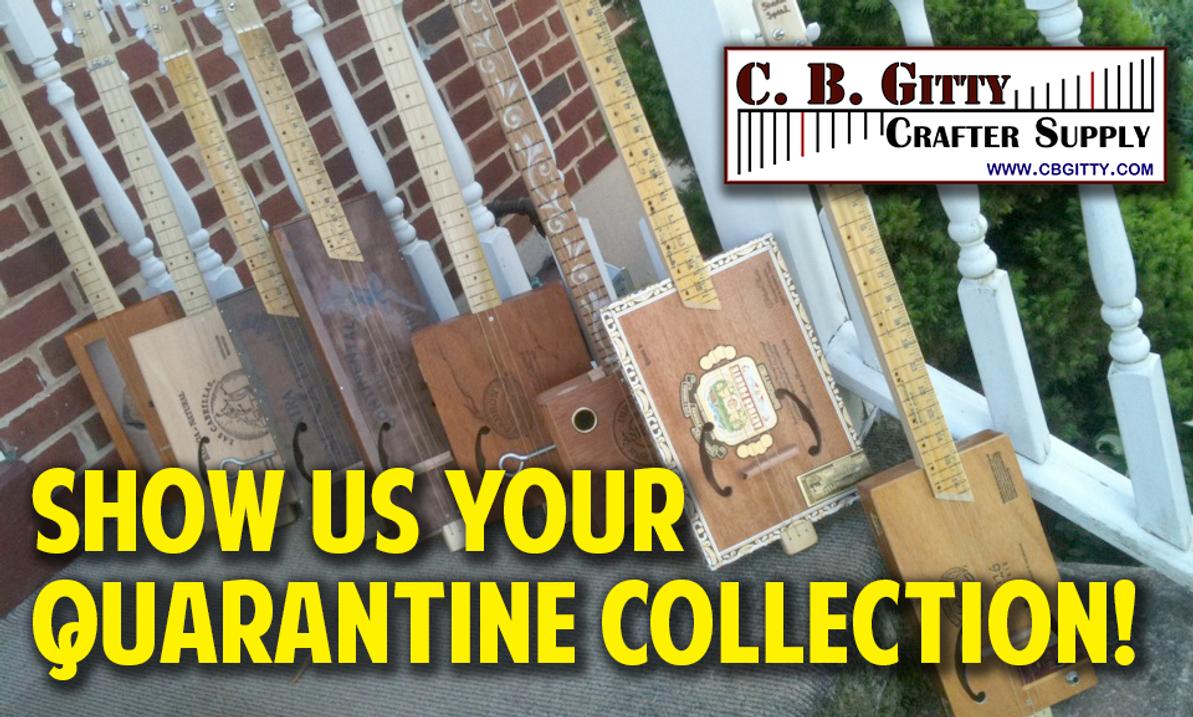 "Contest:  Show Us Your ""Quarantine Collection"""
