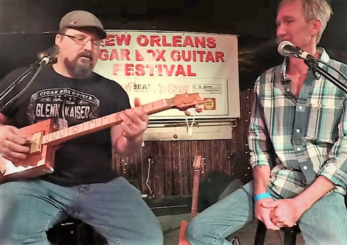 """VIDEO:  """"They're like driving a Masarati!"""" - Rob Wrobel and his high class cigar box guitars"""