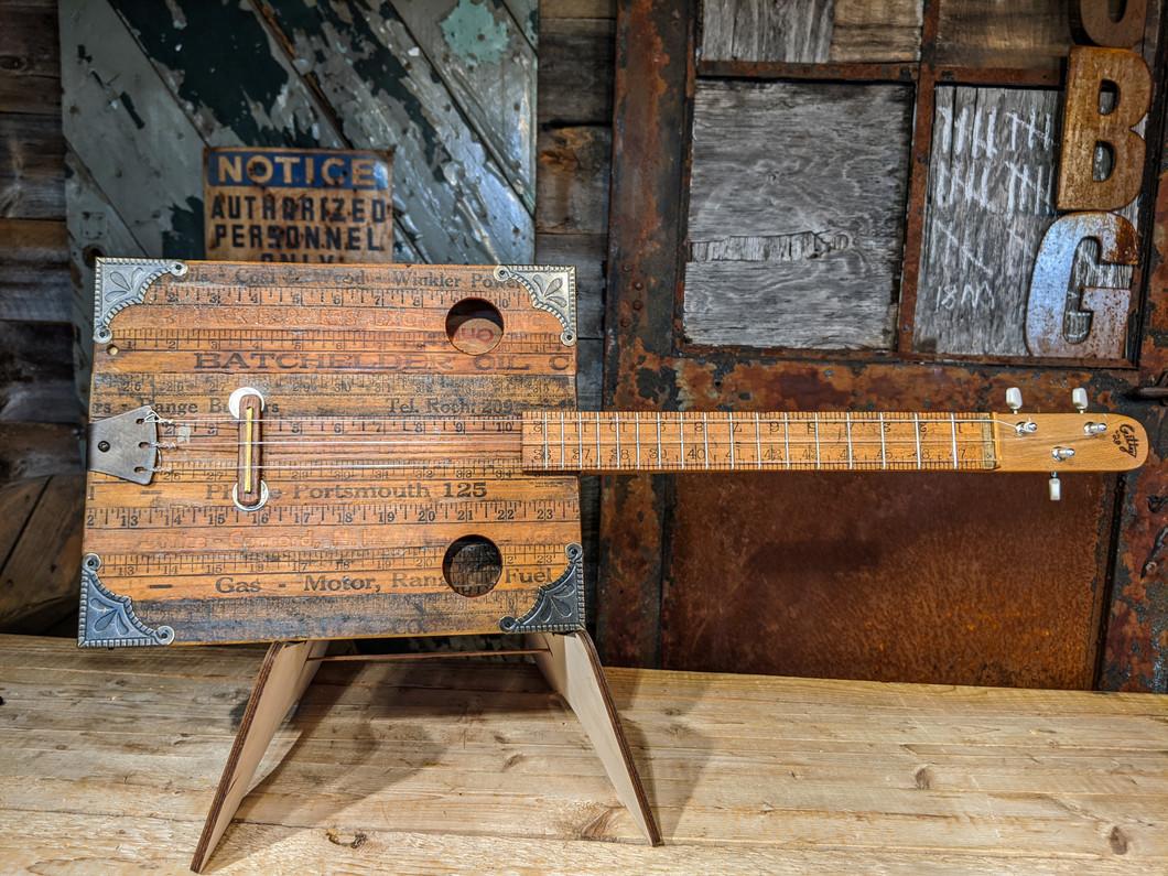 The Yankee Yardstick Guitar - A Builder's Diary