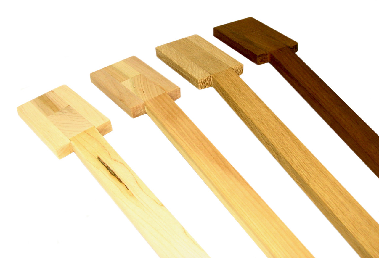 Standard Cigar Box Guitar Necks Select Wood Headstock And Fretting Options