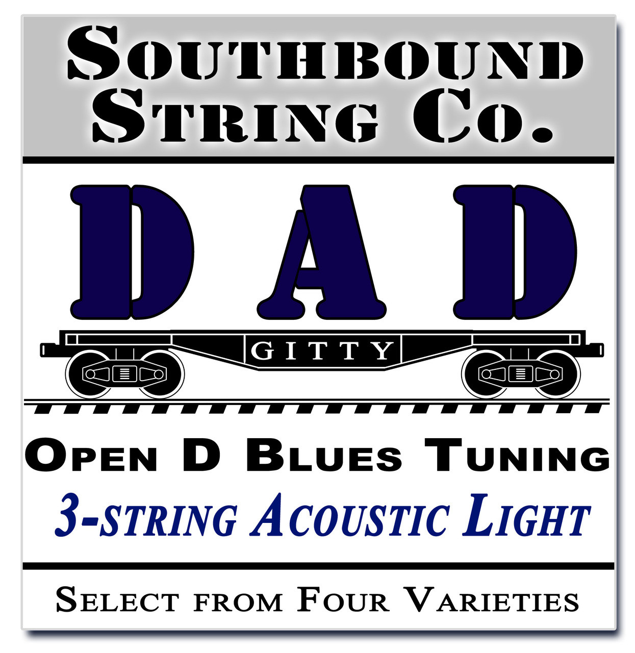 3 String Open D Dad Modalblues String Sets Choose From 4 Set