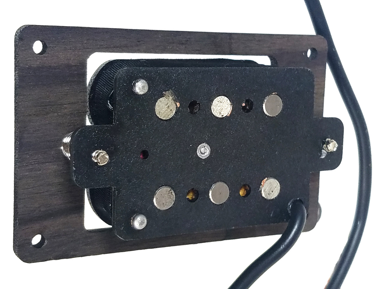 deltabucker deluxe 3 string rosewood cigar box guitar humbucker pickup pre wired with volume. Black Bedroom Furniture Sets. Home Design Ideas