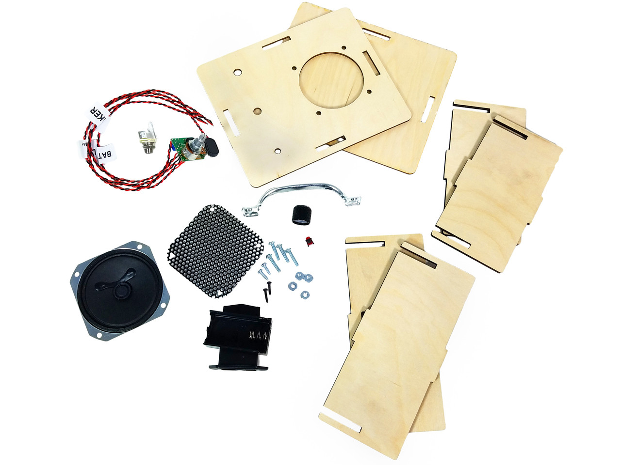 DIY 2 5 Watt Amplifier Kit - Laser-cut enclosure offers endless  customization possibilities