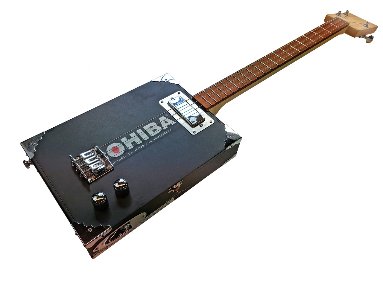 the chicago electric 3 string cigar box guitar kit c b gitty crafter supply. Black Bedroom Furniture Sets. Home Design Ideas