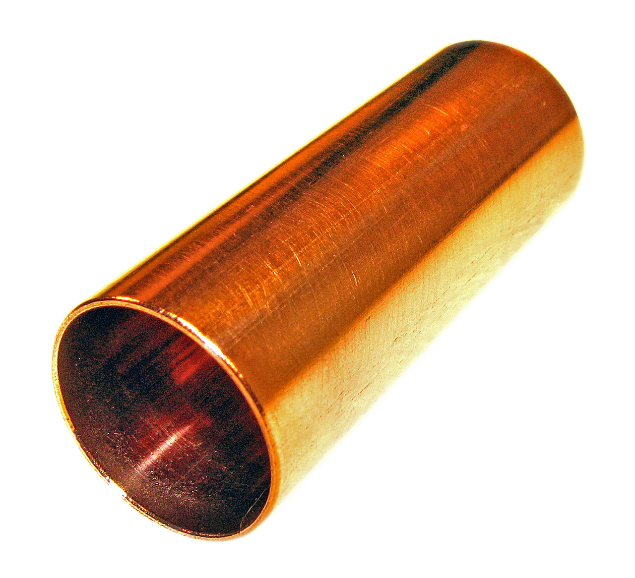 Copper Guitar Slide Hand Finished And polished