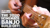 The 2020 Homemade Banjo Build-Off!  Win prizes from CBGitty.com