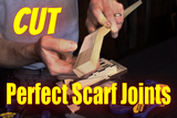 How To Cut Perfect Cigar Box Guitar Scarf Joints By Hand