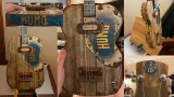 The Humo Barnwood Guitar by Michael Copado: A detailed builder's diary
