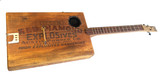 """Building """"The Quarryman"""" Dynamite Crate Guitar - A Photo Diary"""