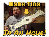 "Shane Speal's 1 Hour Project: Make Your Own ""Shabby-Chic"" Lap Steel"