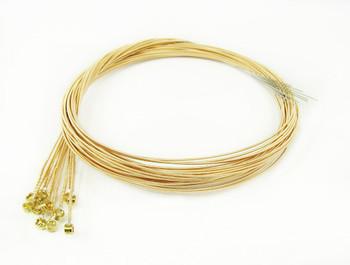 """34-gauge (.034"""") Phosphor Bronze Wound Guitar Strings (12-pack)"""