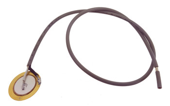 3pc. 20mm Piezos with One-foot Shielded Leads