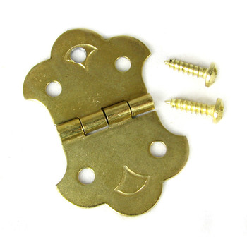 Cigar Box Guitar Hinge Tailpiece for 3-String CBGs
