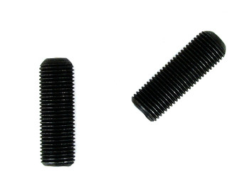 "2pc. CBG Bridges - Black Steel Threaded Rod - 1/2"" x 1 1/2"""