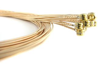 """38-gauge (.038"""") Phosphor Bronze Wound Guitar Strings (12-pack)"""