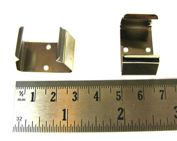2pc. Metal 9-Volt Battery Clips