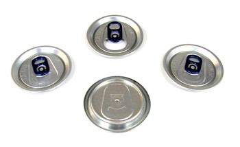 4pc. Aluminum Can Top Sound Hole Covers