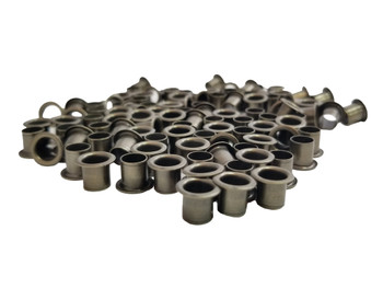 100-pack 1/4-inch Antique Copper Tuner Bushings/Ferrules