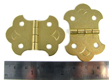 24-pack Brass-Plated Hinges