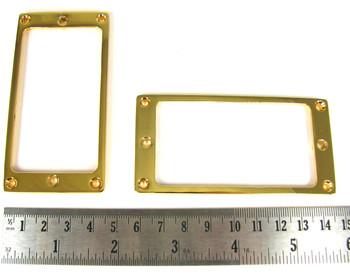 2pc. Gold Full-Size Humbucker Rings