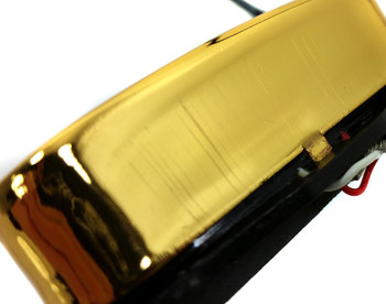 This close-up shows some of the vertical lines that may appear on the sides of these pickups.