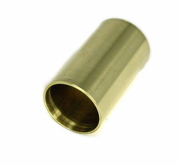 "Polished Brass ""Stubby"" Guitar Slide: 1 1/2-inch Length - Made in the USA!"