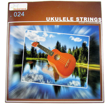 White Nylon String Set for Concert Ukulele