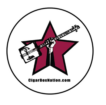 10pc. 3-inch Round Cigar Box Nation Vinyl Bumper Sticker